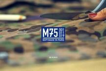 Oxmo Puccino x Bleu de Paname - M75