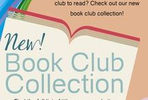 Book Club Resources / Are you in or lead a book club? This board has great ideas for book clubs!