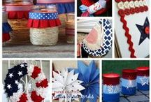 "Fourth of July Group Board / Time to get ready for the biggest holiday of the summer - the 4th of July! What gets you dreaming of red, white and blue? Whatever it happens to be, pin it! Before you start, please ""follow"" this board. You must follow it first to receive an invite to add pins. Happy pinning!"