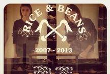 Rice and Beans x Bleu de Paname  / Edition spéciale : 6 ans   Special edition : 6TH. - 22.06.2013 www.riceandbeans.fr