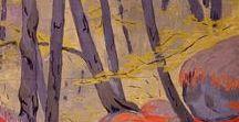 Artist's view: nature / art, painting, sculpture, nature, botanical, artist