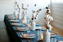 Party Ideas / table decor / by Giova Brusa