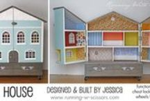 Play Kitchens and Doll houses  / by Jaclyn Schaer