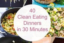 CLEAN EATING / Striving to eat as healthy as you can / by Janice Maiolatesi
