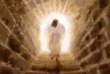 EASTER***HE HAS RISEN / He is the reason we celebrate GIVE HIM ALL THE GLORY / by Janice Maiolatesi