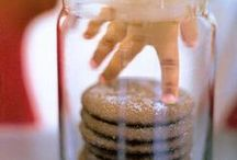 COOKIE JAR+COOKIE CUPS / Fill up the cookie jar with cookies & cookie cups    / by Janice Maiolatesi