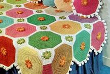 AFGANS+THROWS+BLANKETS / How to's for making afgans, throws and blankets / by Janice Maiolatesi