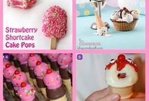CAKE+COOKIE+PIE POPS / All the ways with cake pops/cookie pops, pie pops along with some pushups / by Janice Maiolatesi