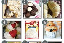 RECIPES USING CAKE MIX / Think outside the box & make other things with a cake mix the ideas are endless   / by Janice Maiolatesi