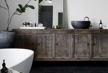 Bathroom's - in detail / Bathroom inspiration, home decor, interior inspiration, baths, tiles, interior styling, bathroom styling