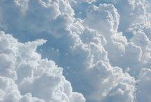 Blue....clouds above~ / Soft blue