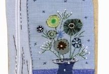 Flowers / embroidered flowers, prints of flowers, books about flowers / by Giova Brusa