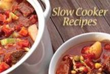 Slow Cooker Meals / There's nothing better than coming home after a long day to a dinner already made and ready to go. With these slow cooking recipes, you can throw the ingredients in before work or errands and have a warm, delicious meal waiting for you when you get home!