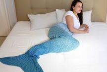 Meerjungfrau Decken / Ein Meerjungfrau Decke für den Ariel Look kannst du dir ganz einfach selber häkeln. Es dauert zwar ein paar Stunden oder Tage, aber mit einer unserer Mermaid Decken Anleitungen und ein wenig Geduld kannst du deine Meerjungfrau selbst häkeln oder stricken.