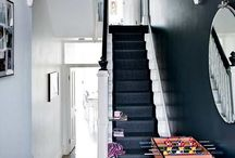 Hallways & Entrances - in detail / Hallway ideas, entrances, home decor, home styling, staircase, modern, contemporary, rustic, storage, shoes and coats