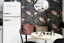 Wallpaper - In Detail / Wallpaper, home interiors, home decor, modern, contemporary home, decorating with wallpaper