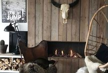 Modern rustic decor - In Detail / Modern rustic interiors, rustic styling, wood, concrete, beautiful interiors.