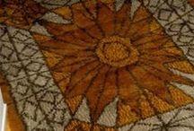 rugs, rya, ryijy, Finnish rug