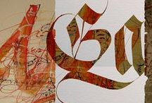 Calligraphy stuffs / by Tori Bell