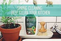 Green Cleaning + Household Tips / From shopping organic while sticking to your budget to non-toxic cleaning tips and more, here you'll find the tools to make your household run like a lean green machine. / by Seventh Generation