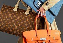 BITCH GOT A LOT OF BAGSSS;-)) / BAG LADY;-) / by FUNKYFABU #DAPRETTYONE