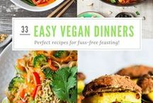 Ⓥ: main courses / vegan, healthy and delicious meal ideas