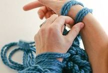 knitting & crocheting / Won't you take me to...cozy town.  / by BuzzFeed DIY
