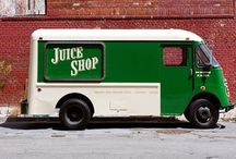 Foodtruck, carts and food on the move / by Eric Aerts