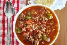 Soups, Stews, and Chili / by Sharon Burkhart