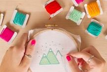 embroidery & cross stich / by BuzzFeed DIY