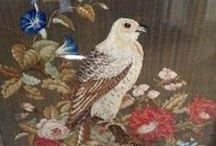 Antique Needlepoint and Needlework / by Karen Hendrix
