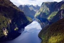 places to go: new zealand / New Zealand will forever be my dream land.