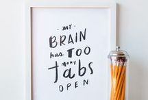 lovely lettering / by BuzzFeed DIY