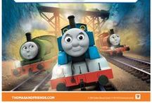 Thomas & Friends / Fun Thomas & Friends activities for your child to enjoy, including puzzles, lesson plans and colouring in sheets. It also includes Tale of the Brave activities, the latest Thomas & Friends film. / by iChild.co.uk