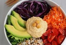 Ⓥ: buddha bowl / a rainbow in your plate