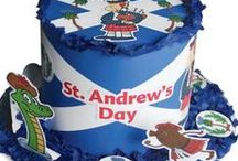 St. Andrew's Day / St. Andrew is the patron saint of Scotland. Celebrate St. Andrew's Day by decorating our greetings card and our colouring in templates!