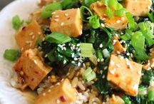"""Ⓥ: tofu 101 / ever had tofu straight out of the package and thought """"man i don't like this stuff, what do Vegans eat?!"""" well think again, here's 101 (and more) ways to enjoy tofu"""