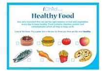 Healthy Living / Helping your child learn about the importance of a balanced diet and exercise.