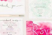 Wedding Invite stuffs / by Tori Bell