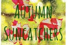 Autumn crafts and activities for children / Lovely activities to do with your child during the season of jumping into piles of leaves and looking at the wonderful colours of - Autumn!