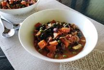 Ⓥ: one-pot wonders / one pot + lots of delicious ingredients = 1 amazing meal