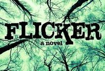 The Flicker Effect / Pictures that inspired my YA trilogy, the Flicker Effect (Flicker, Fracture, and Faded)