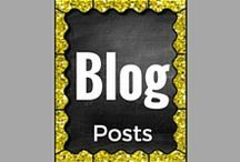 Teacher Blog Posts / The best blog posts for fun and informative ideas for your elementary and middle school classroom.