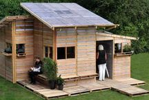 Studio ideas / Mobile houses, inspiration for studio and office. (I'd love to work in one of those)