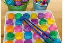 Easter Fun / Easter crafts, snacks and activities for kids!