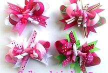 Bow Making / Hair bows, Christmas bows, etc... / by Lorena Isabel