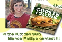"""Keep On Crunkin' / Take your taste buds on a whole new adventure! Bianca will challenge you to give """"cookin crunk"""" a try. With daily support via tweets, blog posts and Facebook post, Bianca will share her southern twist to Vegan Cooking.  The Challenge begins on Feb 19th and runs until Feb 26th. We invite you to share your Vegan Crunk photos ."""