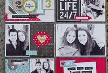 Scrapbook Pages / by Delightful Order