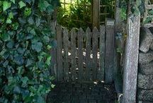 In The Garden ~ Arbors, Fences & Gates / by ♥ Prim With Love ♥