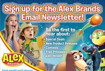 ALEX Special Sales & Contests! / Stay up to date on our special sales and contests! / by ALEX Toys